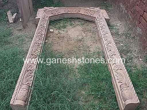 Main Door Carving Stone Frame : carving door frames - pezcame.com